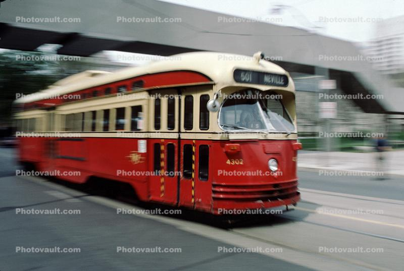 Trolley in Toronto, PCC, (Presidents' Conference Committee), Toronto, Canada