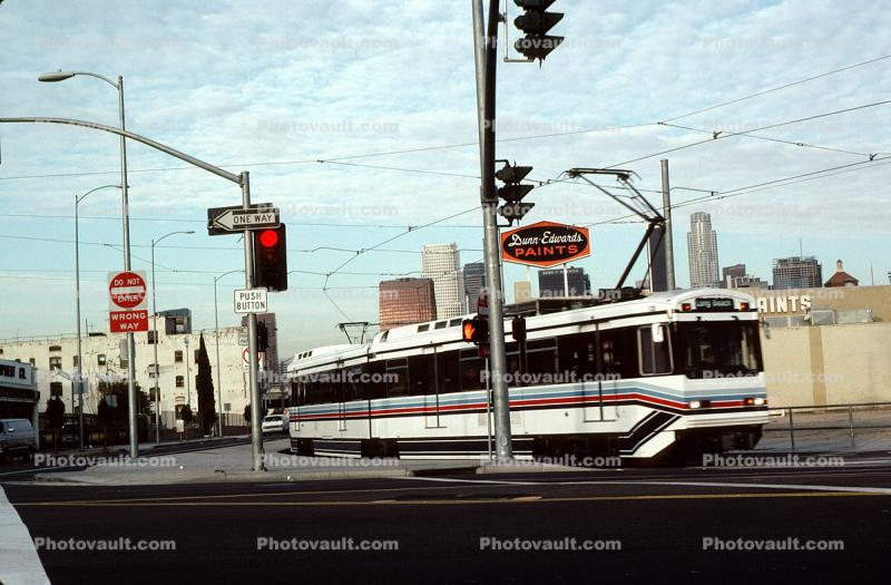 Los Angeles County Metro Rail, LACMR, Electric Trolley