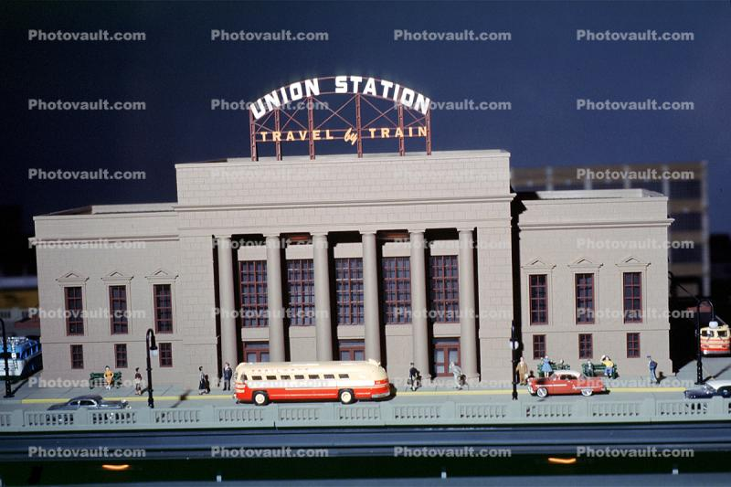 Union Station, Travel by Train, 1950s