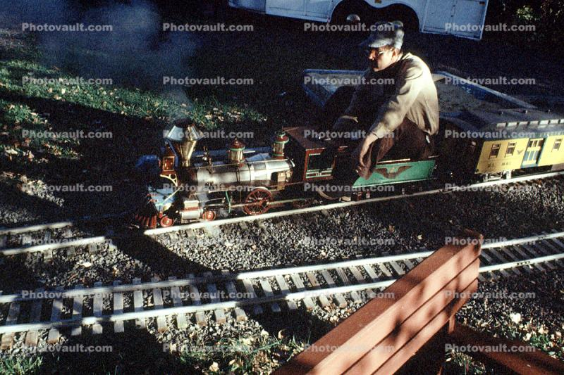 Rideable Miniature Railroad, Live Steamer