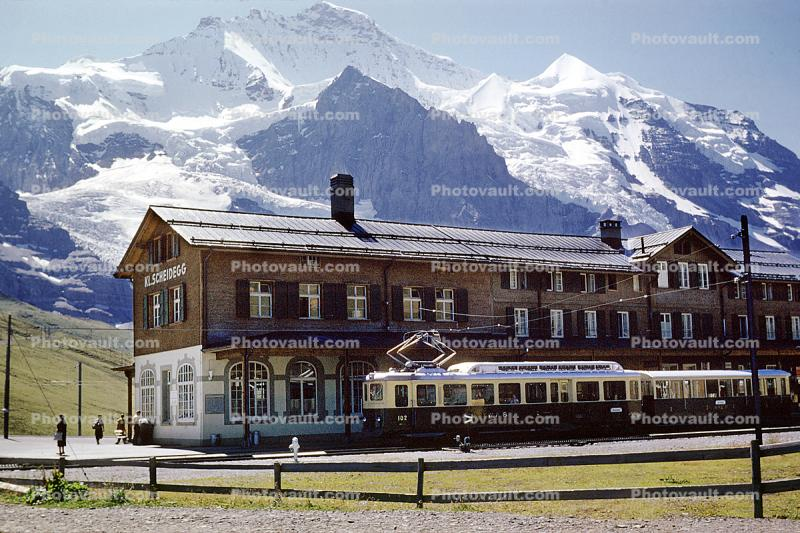 Jungfrauhoch Train Station, Ausgst 1959, 1950s