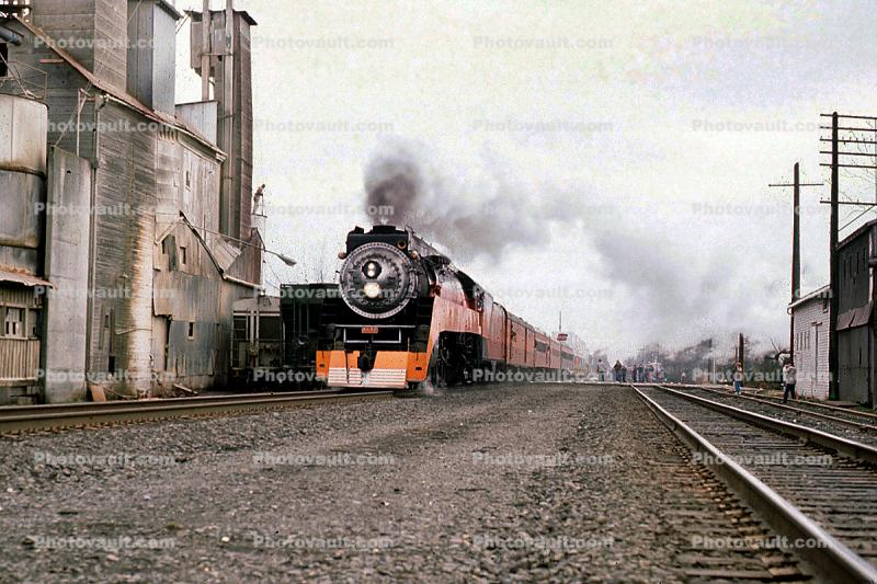 SP 4449, GS-4 class Steam Locomotive, 4-8-4, Southern Pacific Daylight Special, 1950s
