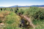 Fence, Stream, Klamath, Oregon, ACFV03P13_02
