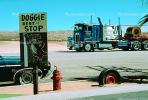 Doggie Rest Stop, Fire Hydrant, Funny, Hilarious, Tire, Cab-over Engine Truck, Cab Forward, ADSV01P09_08.1710