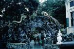 Dragons, Creatures, path, birds, Tiger Balm Gardens