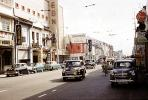 Cars, Shops, Stores, Downtown, , Retro, 1950s