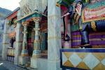 Elephant, Ganesh, Columns, Sirohi Temple, shrine, colorful columns, statue, Deity, CAIV03P12_19