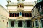 building, balcony, City Palace, building, Udaipur, Rajasthan, CAIV03P13_17