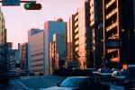 cityscape, buildings, cars, Tokyo