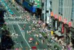 street, crowds, shops, Ginza District, Tokyo