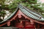 Buddhist Temple, shrine, Buddhism, Building, roof detail, Nikko, CAJV02P01_10.0628