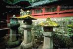 Stone Lanterns, Buddhist Temple, shrine, Buddhism, Dharmic, Dharma, Building, Nikko, CAJV02P02_11.0628