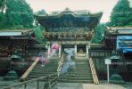 Toshogu Shrine, ornate, building, shrine, opulant, steps, stairs, Nikko