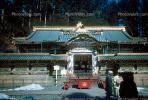 Temple, shrine, sacred place, Nikko, 1950s, CAJV03P03_03.0629