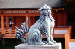 Dragon Dog, statue, Miyajima