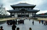 Great Buddha Hall, Todai-ji, Temple, largest wooden building, Nara, CAJV04P05_17