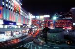 Neon Light, Shops and Stores, Buildings, Night, Tokyo, CAJV06P02_13