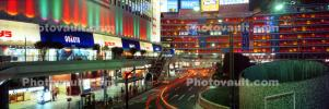 Neon Light, Shops and Stores, Buildings, Night, Tokyo Panorama, CAJV06P02_18