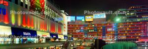 Neon Light, Shops and Stores, Buildings, Night, Tokyo Panorama, CAJV06P02_19