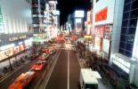Ginza District, Cars, Neon Lights, Street Scene, CAJV06P03_08