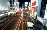 Ginza District, Cars, Neon Lights, Street Scene, CAJV06P03_09