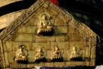 bar-relief, Swayambhunath Stupa, Statue, Sacred Place, Kathmandu, Buddhist Shrine, temple, building, CANV01P06_02.0630