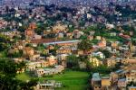 Kathmandu Valley, Homes, Houses, buildings, skyline, mountains, CANV01P06_03B