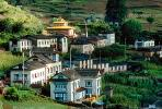 Village, buildings, homes, Junbesi, Himalayan Mountains, CANV01P11_14