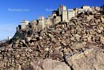 Buildings, Village, Al Hajjarah, Manakhah Distric, Haraz Mountains, Yemen, CAPV01P14_15.0631