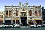 ornate Building, cars, opulant, CARV01P13_01