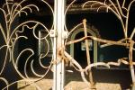 Wrought Iron Gate, Entryway, CARV02P04_10