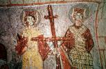 Fresco, cross, wall painting, Cappadocia (Kapadokya), CAUV01P12_07