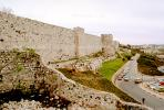 Old City Wall, Jerusalem, cars, automobiles, vehicles, CAZV02P03_07