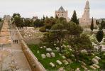 Cemetery, Church of the Dormition of the Virgin Mary, Mount Zion, Jerusalem, Landmark