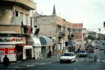 cars, street, automobile, vehicles, Marlboro cigarettes, buildings, shops, stores, Jaffa