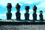 Easter Island, Statue, Moai, Face, Rock, Stone, Rapa Nui National Park, landmark