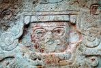 Carving, Stone, bar-Relief, Figure, Chichen Itza, CBMV01P12_15.1511
