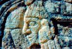 Carving, Stone, bar-Relief, Figure, Chichen Itza, CBMV01P15_05.1511