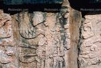 Carving, Stone, bar-Relief, Figure, Chichen Itza, CBMV01P15_09.1511