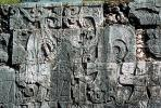 Skull, Carving, Stone, bar-Relief, Figure, Chichen Itza, CBMV02P01_12.1511