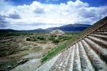 Steps at Teotihuacan, Hidalgo, Pyramid of the Sun, Hidalgo