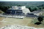 Templo De Los Guerreros, Temple of the Warriors, Chichen Itza, CBMV05P10_04