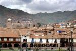 Rooftops, Village, Mountains
