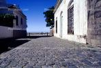 Cobblestone Street, Wall, Buildings, Colonia, CBUV01P02_13