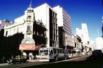 downtown, office, building, taxi cab, Bus, Coca Cola, Montevideo, CBUV01P03_10