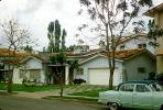 single story house, residence, cars, Caracas, Venezuela, 1950s