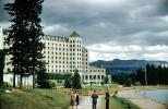 Building, Chateau Lake Louise Hotel, Banff, 1950s, CCAV01P04_01
