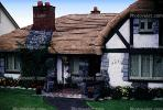 Tudor House, ornate roof tiles, chimney, Vancouver, CCBV01P01_02