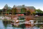 Air Taxi, Docks, Floatplane, DHC-2 Beaver, coastal, waterfront, Empress Hotel, Harbor, Victoria, CCBV01P01_06.1514
