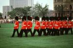 Palace Guards, marching, Parliament Building, Government